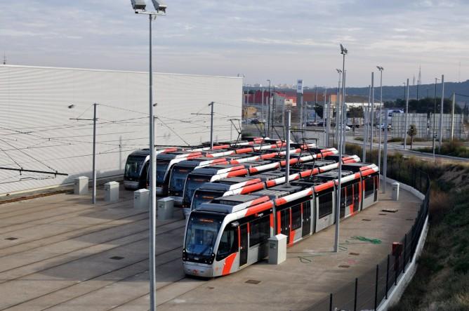 Linea 2 del tranvía de Zaragoza.