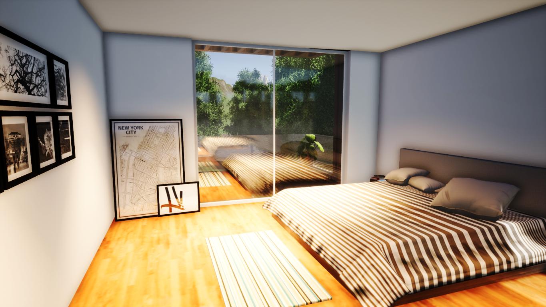 Dormitorio Casa OAK
