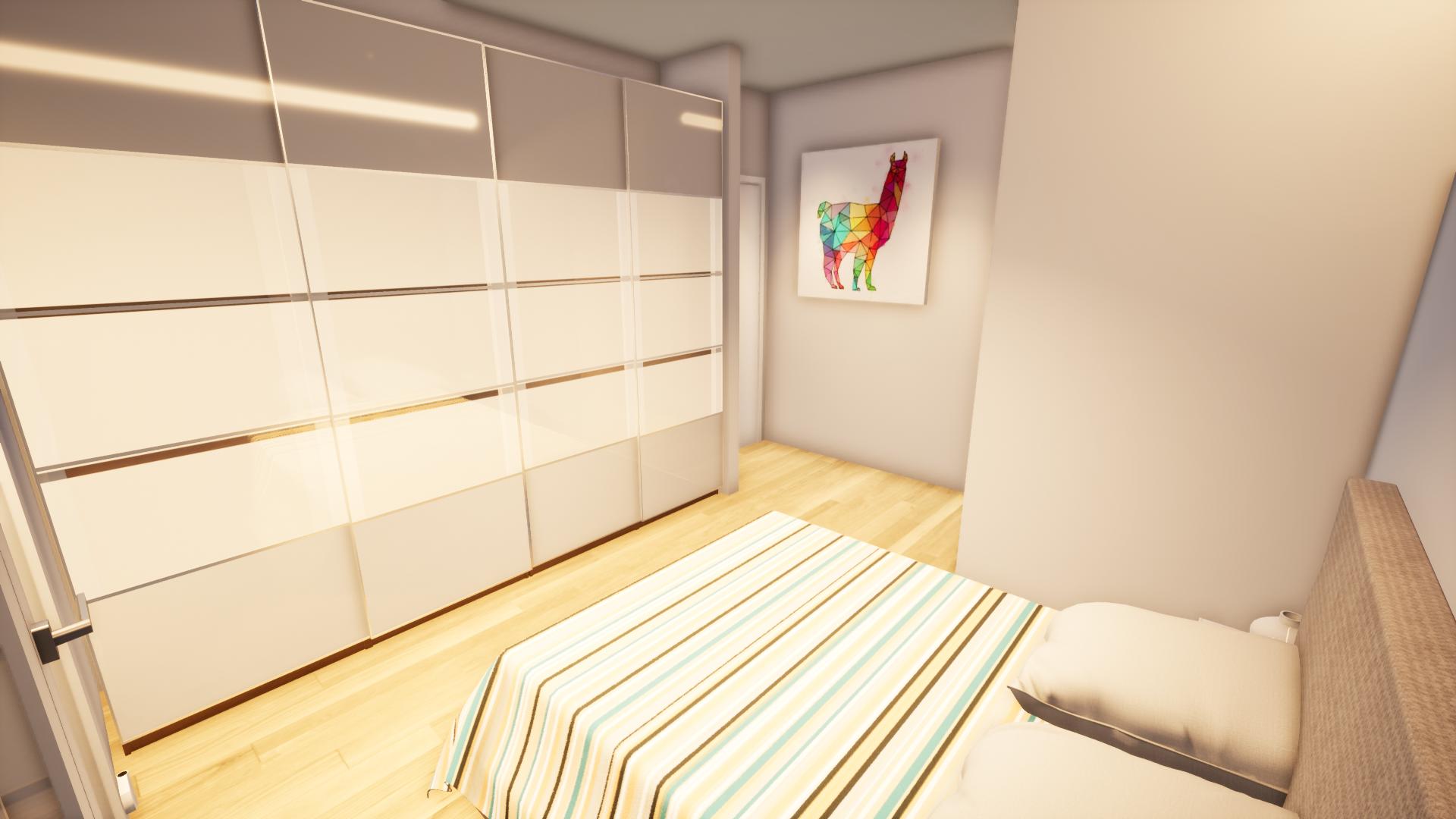 Dormitorio de reforma integral en Zaragoza